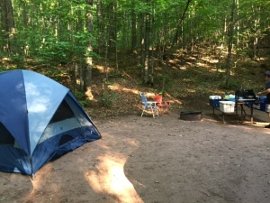 Camping in WI